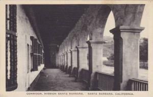 Corridor, Mission Santa Barbara, Santa Barbara, California, 00-10s