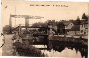 CPA MONTBÉLIARD - Le Pont du Canal (183008)