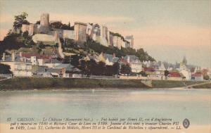 France Chinon Le Chateau