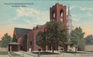 ATTLEBORO , Massachusetts , 1900-10s ; 2nd Congregational Church