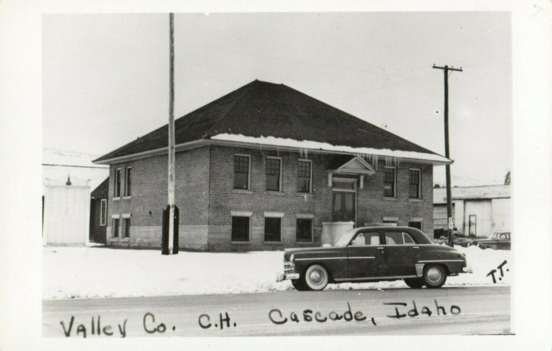 RP: CASCADE , Idaho , 1930-40s ; Court House