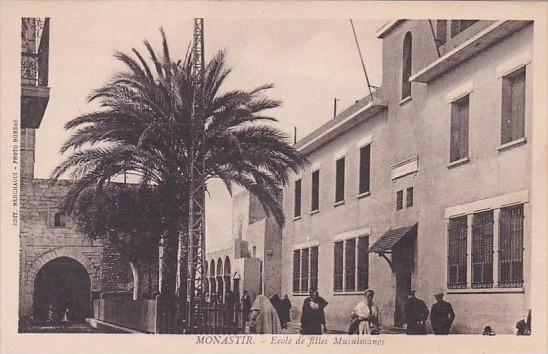Tunisia Monastir Ecole de Filles Musulmanes
