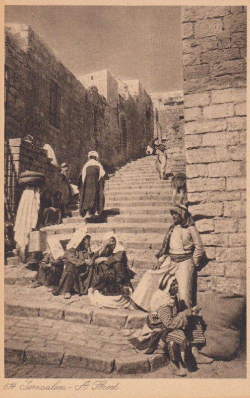JERSULALEM , 1900-10s ;  A street