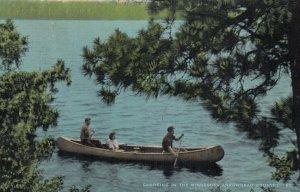 ARROWHEAD COUNTRY, Minnesota, 1930-1940s ; Canoeing