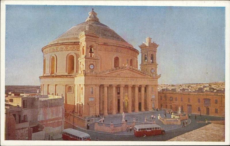 Malta Mosta Church Third Largest dome in Europe