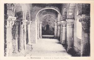 Galerie De La Chapelle Saint-Pierre, MONTMAJOUR, France, 1910-1920s