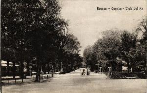 CPA AK FIRENZE Cascine, Viale del Re ITALY (491856)