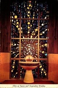 Indiana Munster Carmelite Shrines Altar Of Repose and Inspiration Window