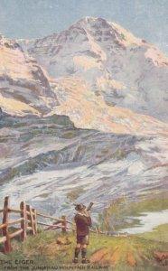 The EIGER , Switzerland , 00-10s ; TUCK 7609