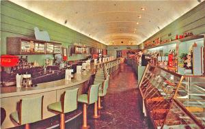 South Bend IN The Philadelphia Diner Interior View Coca-Cola Postcard