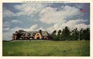 NY - Howe Caverns. The Lodge