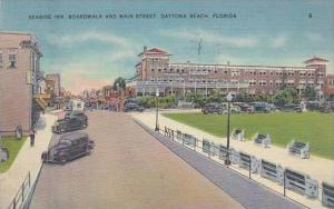 Florida Daytona Seaside Inn Boardwalk &  Main Street 1940