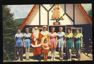 Jefferson, New Hampshire/NH Postcard, Santa's Village/Elves