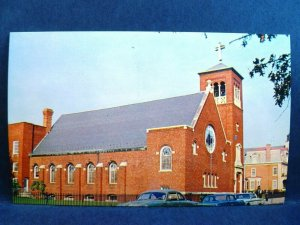 Postcard DE Dover People's Church United Church of Christ