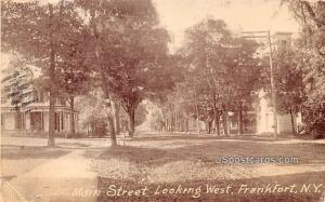 Main Street Frankfort NY 1916