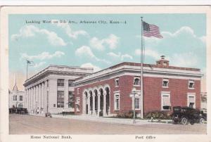 Looking West On 5th Avenue, Arkansas City, Kansas, 1900-10s