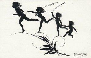 DIEFENBACH : Fantasy Silhouette , 00-10s ; Jugend I. Blatt 19