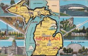 Map Of Michigan