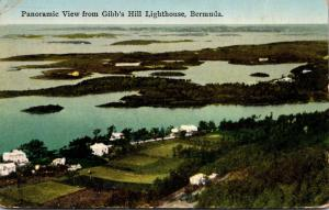 Bermuda Panoramic View From Gibb's Hill Lighthouse 1931