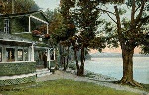 VT - Cedar Beach on Lake Champlain. Maple Lodge