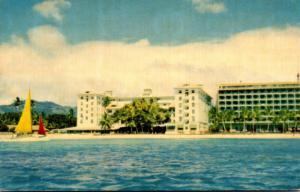 Hawaii Catamaran At Waikiki