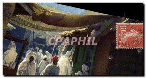 Old Postcard Algeria Arab Quarter