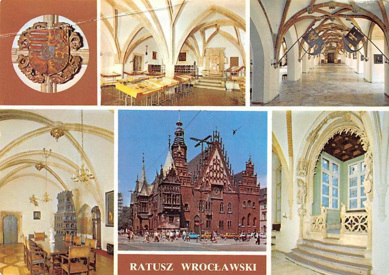 Poland Ratusz Wroclawski Town Hall, Multiviews