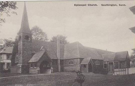 Connecticut  Stonington Episcopal Church Albertype