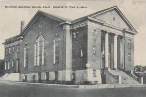 West Virginia Ronceverte Methodist Episcopal Church South Albertype