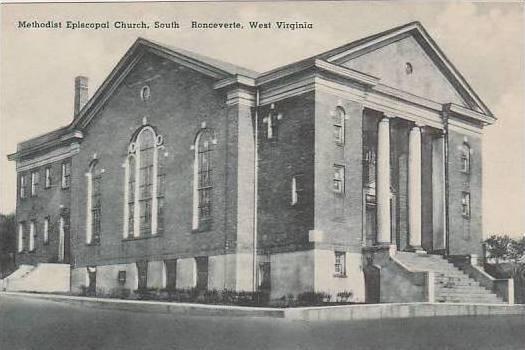 West Virginia Ronceverte Methodist Episcopal Church South Albertype