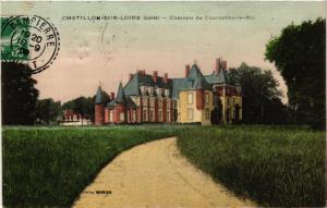 CPA CHATILLON-sur-LOIRE Chateau de Courcelles-le-Roi (607461)