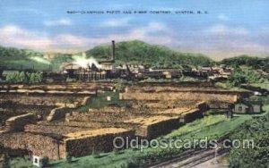 Champion Paper, Canton, N.C., North Carolina, USA Factory Unused