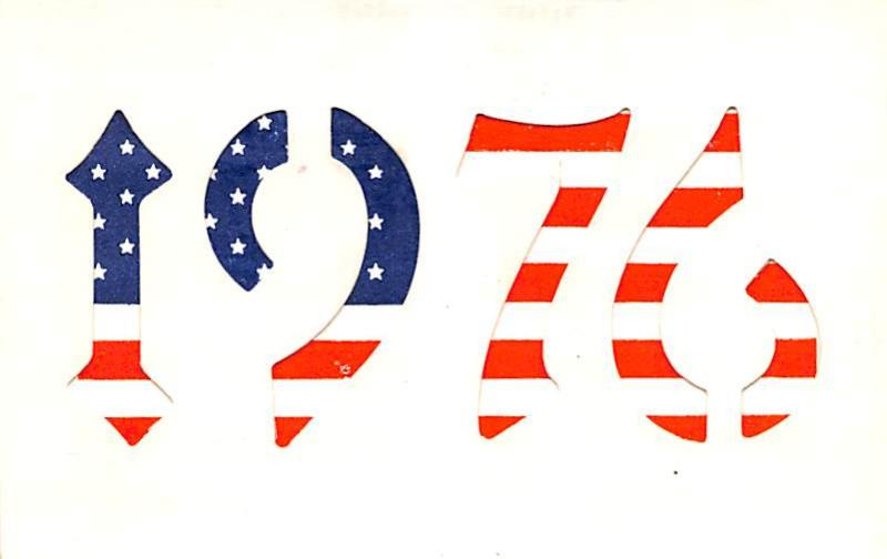 Patriotic Post Card Old Vintage Antique Postcard 1976 Bicentennial Hold to Li...