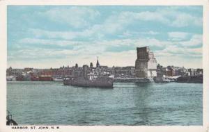 The Harbor - St John NB, New Brunswick, Canada - WB