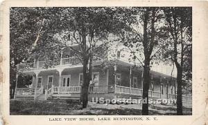 Lake View House Lake Huntington NY 1922