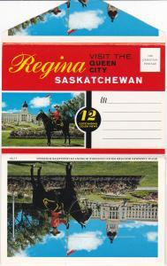 Folder Postcard : REGINA , Saskatchewan , Canada , 50-60s