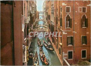 Modern Postcard Venezia Rio of Sighs
