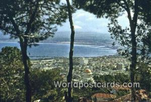 Haifa, Israel Mt Carmel Mt Carmel