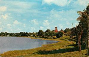Lake Howard Winter HAven Florida Fl Postcard