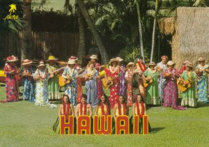 HAWAII, 1950-60s ; Performers at the Kodak Hula Show