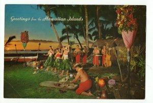 Hawaiian Islands Large 6 X 8.5 Post Card PC9 31