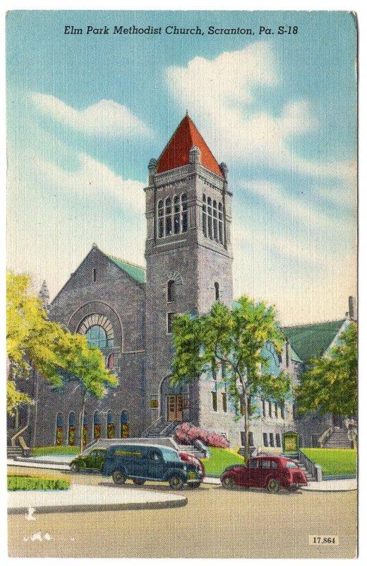 Scranton, Pa, Elm Park Methodist Church