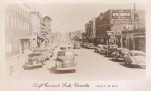 RP: SWIFT CURRENT, Saskatchewan, Canada , 30-40s; Main Street