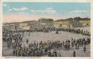 DES MOINES , Iowa, 1916 , Camp Dodge , Push Ball