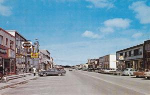 HAUTERIVE , Quebec , Canada , 50-60s ; Main Street