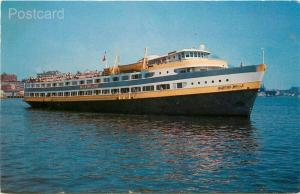 Steamship Boston Belle, Wilson Line Excursion Vessel, Boston, Massachusetts