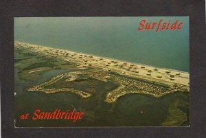 VA Surfside at Sandbridge Camping Campground Virginia Beach Virginia Postcard