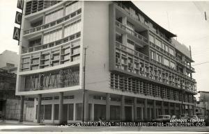 ecuador, GUAYAQUIL, Edificio Inca Ingenieria Arquitectura Construcciones 1950s
