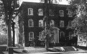 Bangor Brewer ME YWCA Building 1926 Real Photo Postcard.