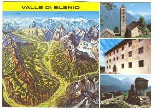 Switzerland, Valle Val di Blenio, used Postcard